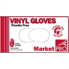LG Vinyl Powder Free Gloves 10/100