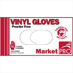 XL Vinyl Powder Free Gloves 100/Box 10 Boxes/Case