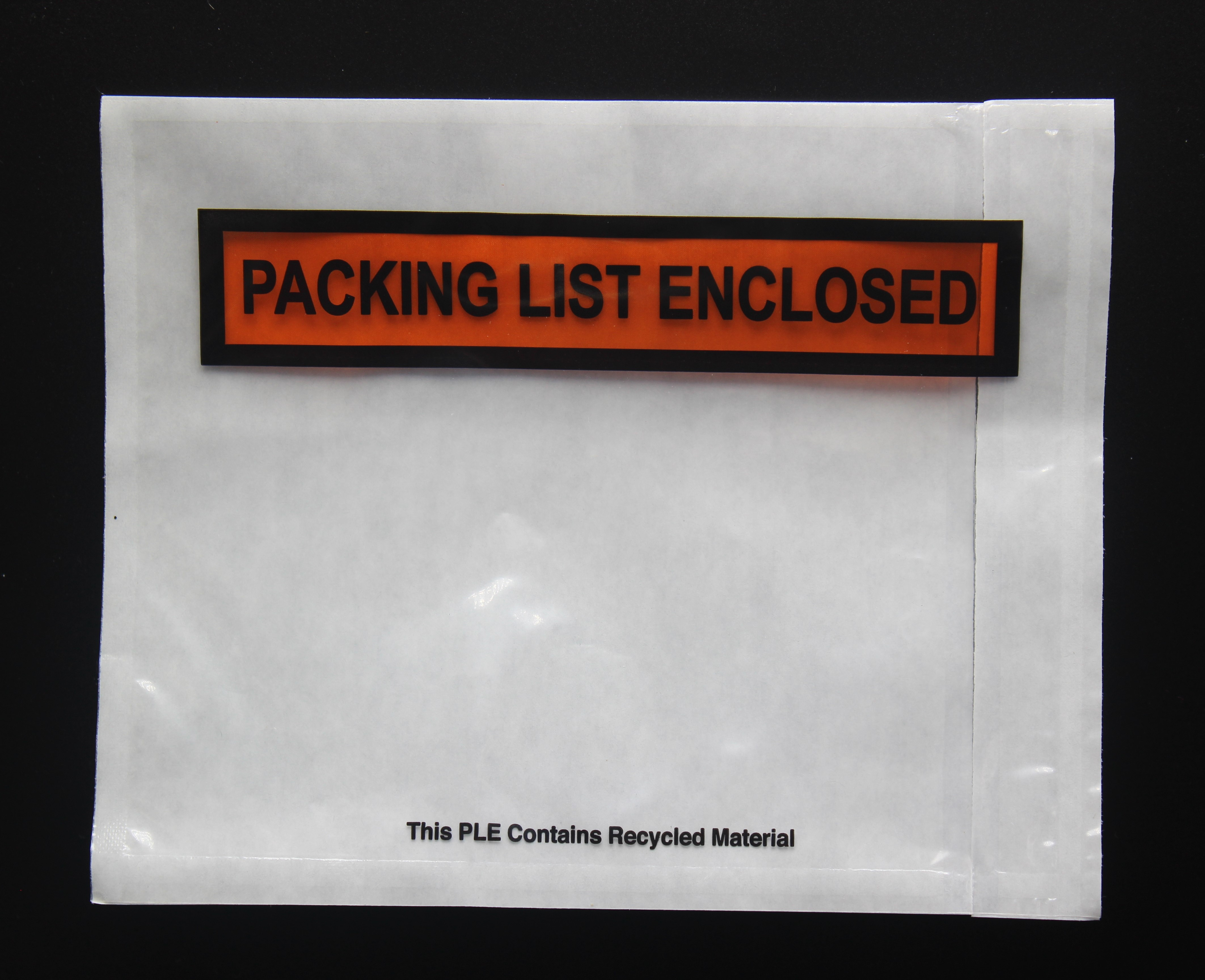 "*4 1/2"" x 5 1/2"" Packing List Enclosed Label"
